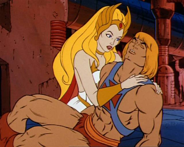 TWINS - He Man and She-Ra