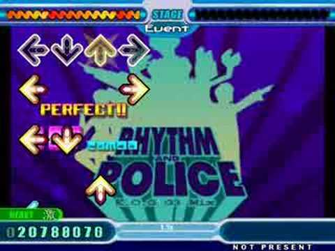 DDR rhythm and police