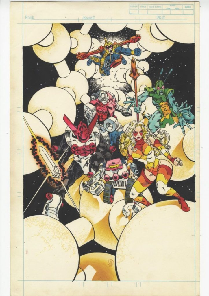 Michael-Goldens-Micronauts-Artists-Edition-Splash-Page-1-768x1087